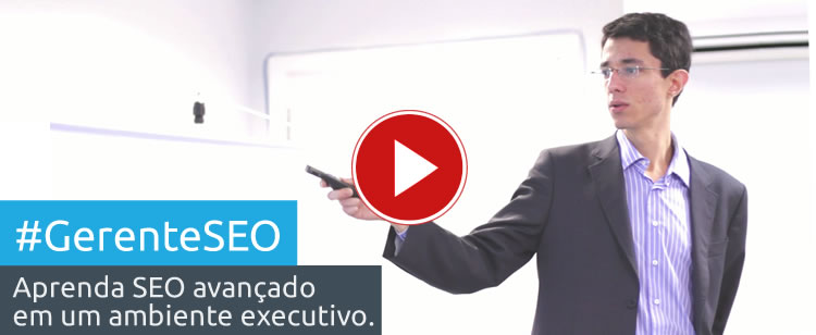 Veja o vídeo do curso #GerenteSEO