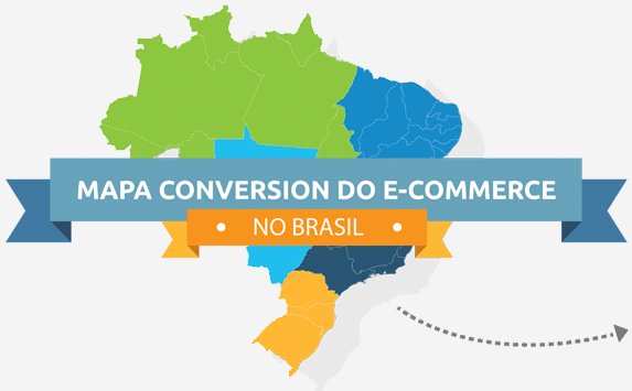 Mapa Conversion E-commerce no Brasil