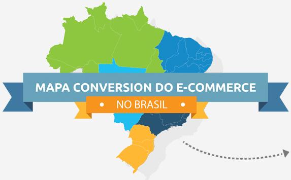 Mapa Conversion E-commerce no Brasil