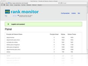 Rank Monitor - ferramenta SEO da Conversion