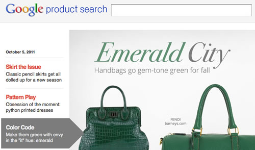 Google Shopping Product Search