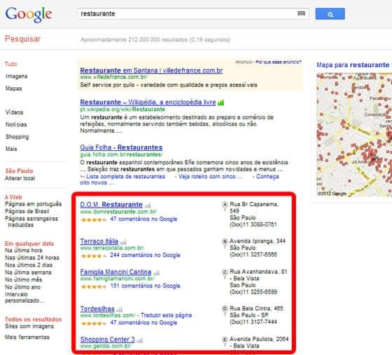 Otimização de Sites Local em São Paulo