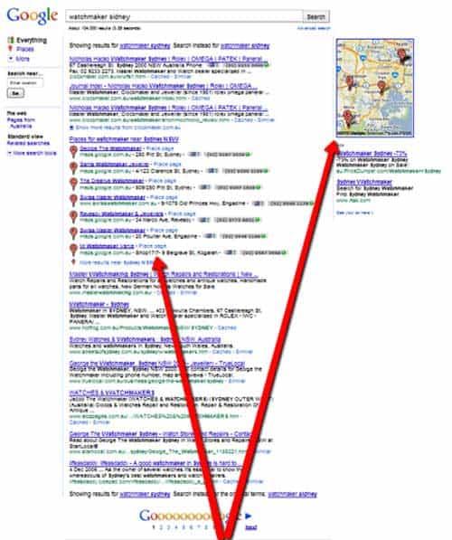 Seven List Google Places