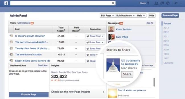 Facebook testa nova ferramenta que aumenta o tráfego de sites