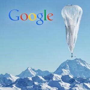 Google usará balões para levar internet a lugares remotos