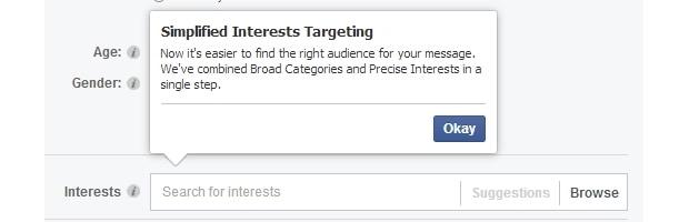 Facebook simplifica modo de segmentar target em anúncios