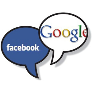 Google e Facebook anunciam parceria