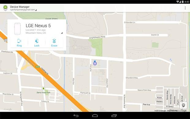 Novo app do Google localiza aparelhos perdidos