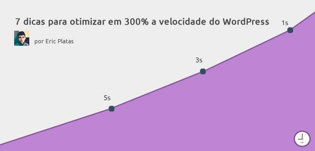 Otimizar a velocidade de site em WordPress