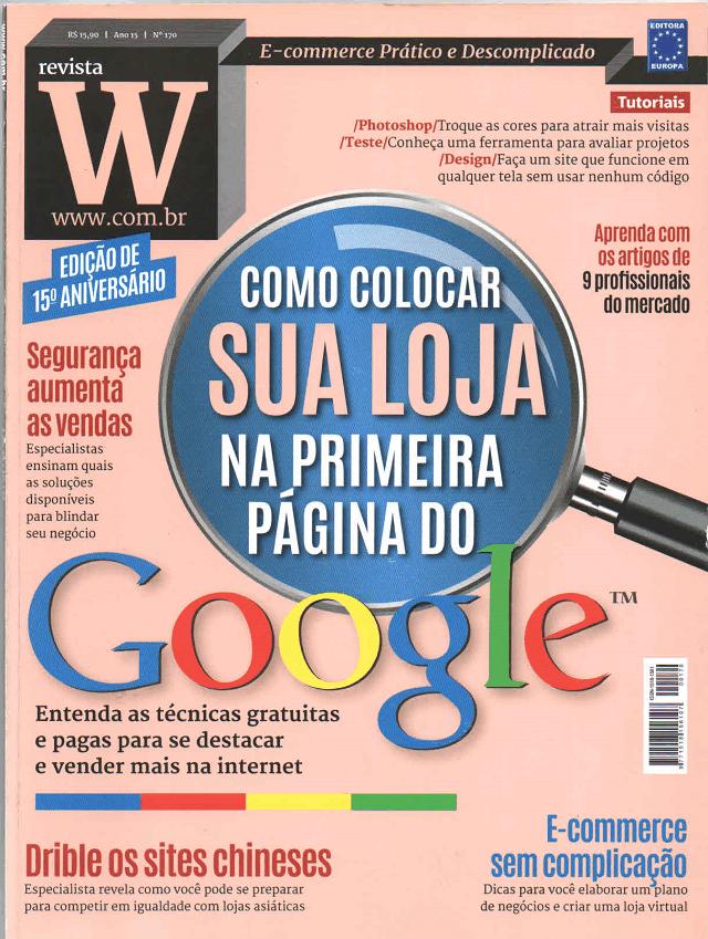 Revista W - Capa
