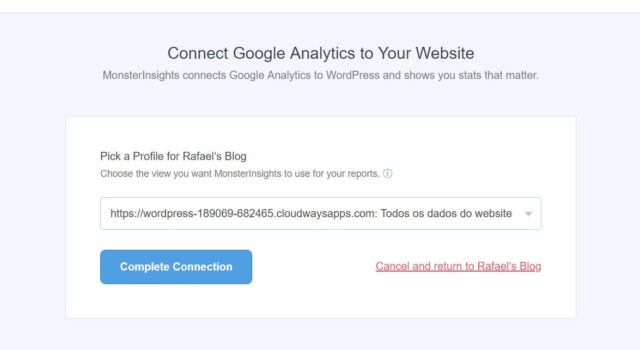 Integrando Google Analytics o WordPress