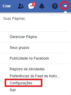 Como excluir o Facebook