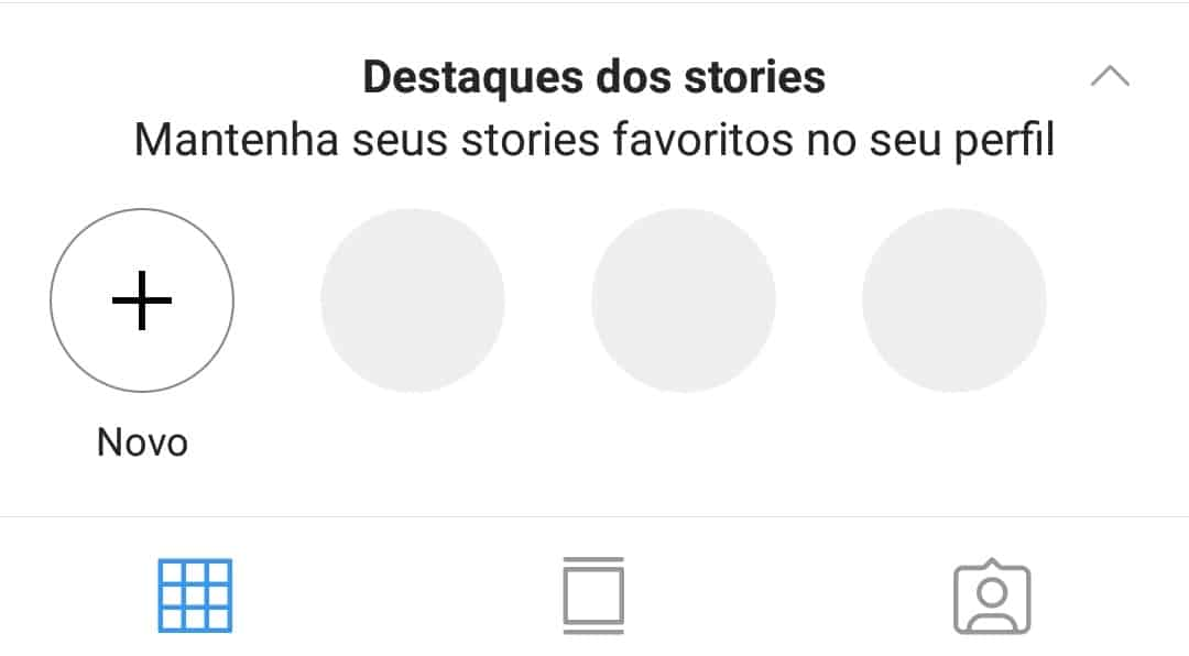 Destaque o Stories