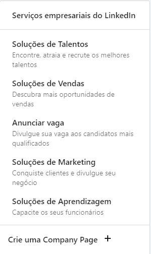 LinkedIn Soluções