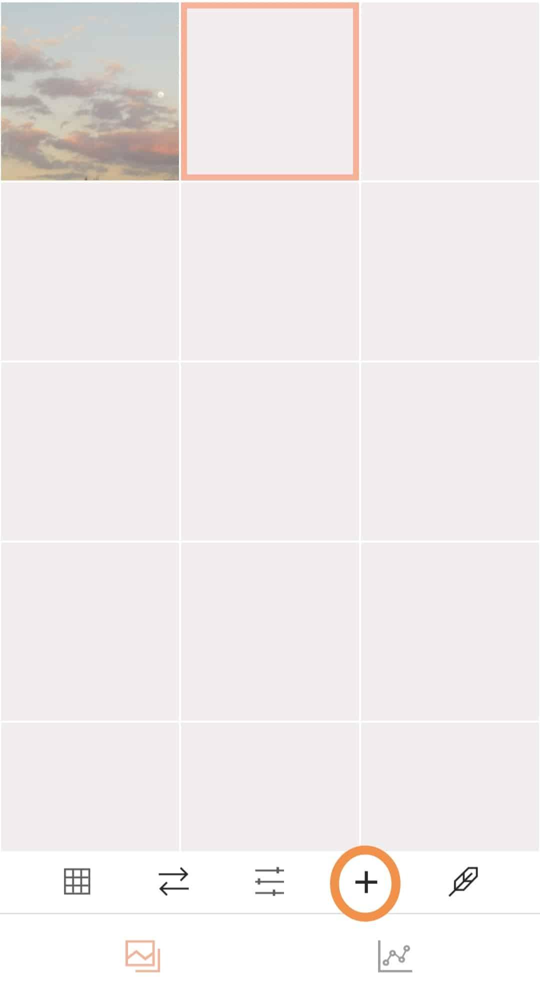 Aplicativo para organizar o feed do Instagram