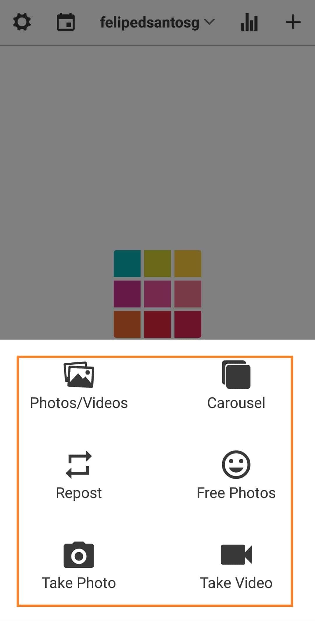 Organizar feed od Instagram