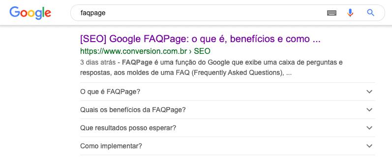 busca por faqpage