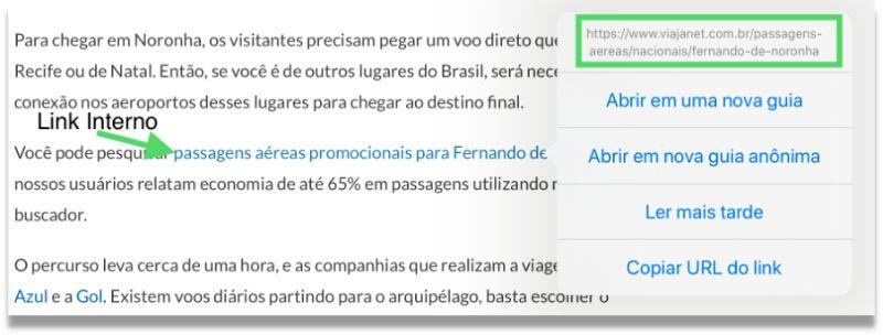 Links Internos