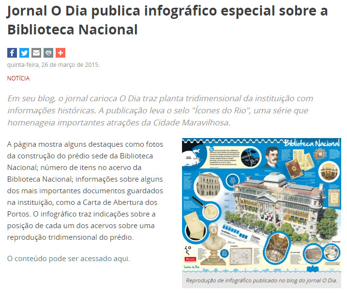 Jornal O Dia Publica Infográfico