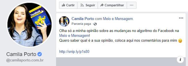 Camila Porto Parceria