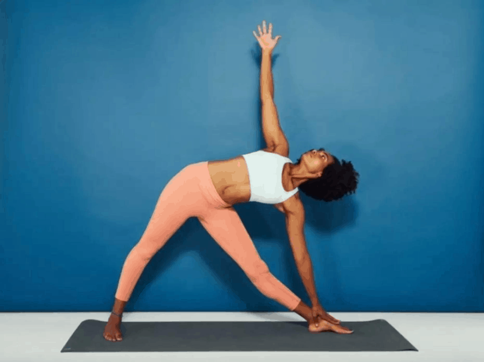 Foto de pose de Yoga