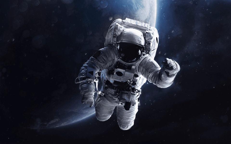 Imagem de Astronauta no Espaço