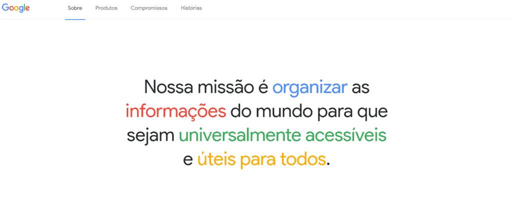 google-missao